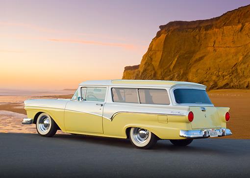 REVELL (Monogram) 1957 Ford Del Rio  wagon!  Aut-2111