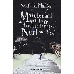 [Malzieu, Mathias] Maintenant qu'il fait tout le temps nuit sur toi 51a2ns10