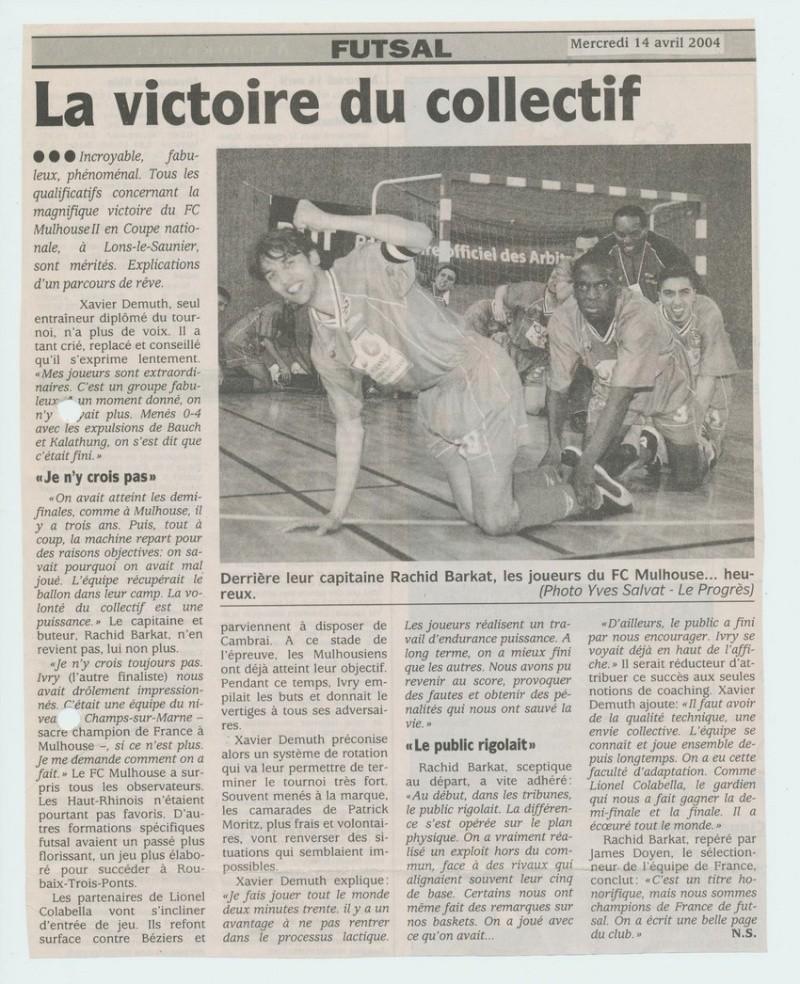 [Futsal] Le FCMII champion de France en 2003-04 La_vic11