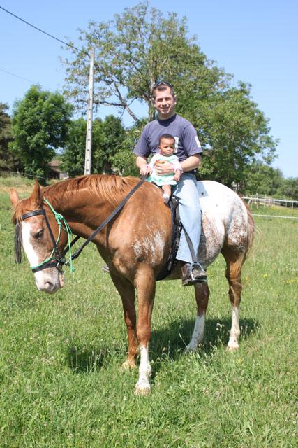 Découverte de l'équitation et du cheval en général... Estell10