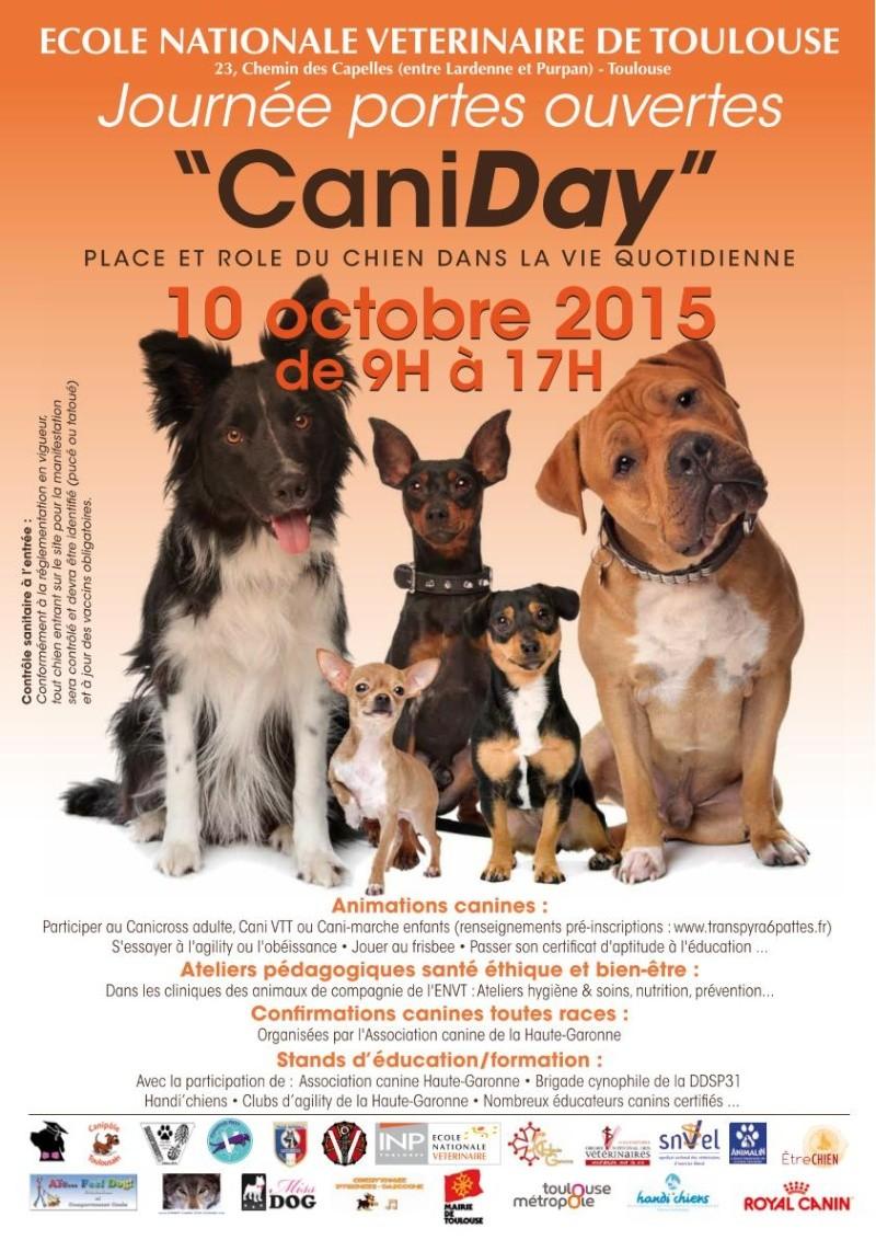 Caniday à l'école vétérinaire de Toulouse Affich10