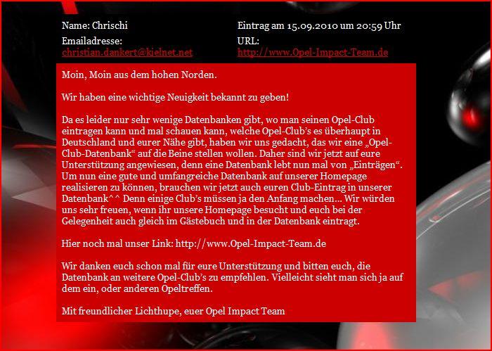 Mal was feines ..eine Datenbank für Opelclubs  Forum_10