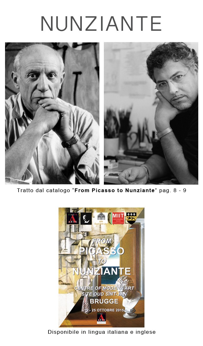 """Catalogo """"From Picasso to Nunziante"""" Bruges 21477f10"""