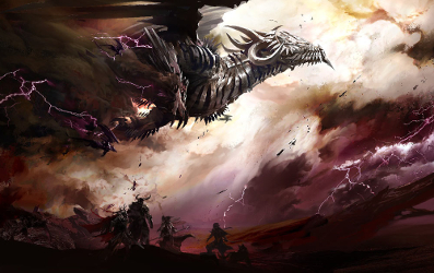 Les dragons argentés Flying10