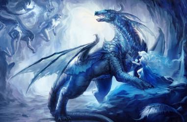 Les dragon saphir Shield10