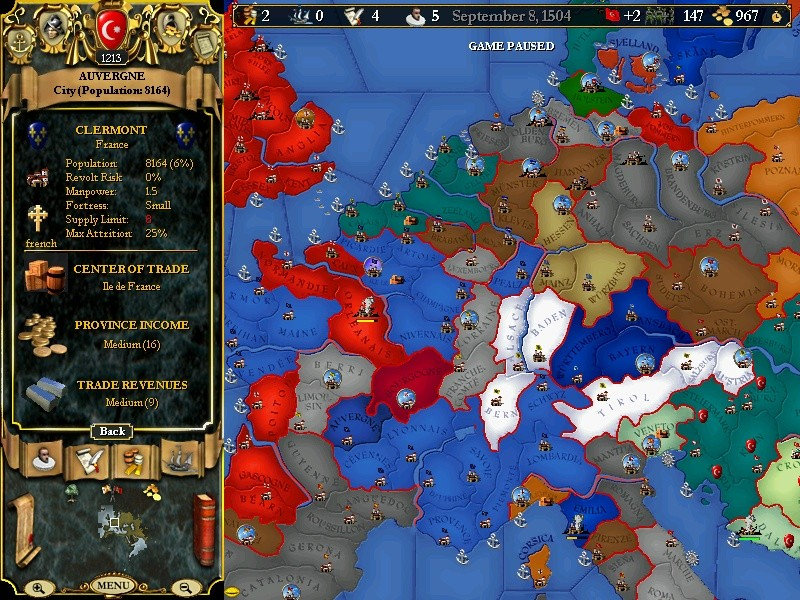EU 2 : world conquest Ottoman Ottoma10