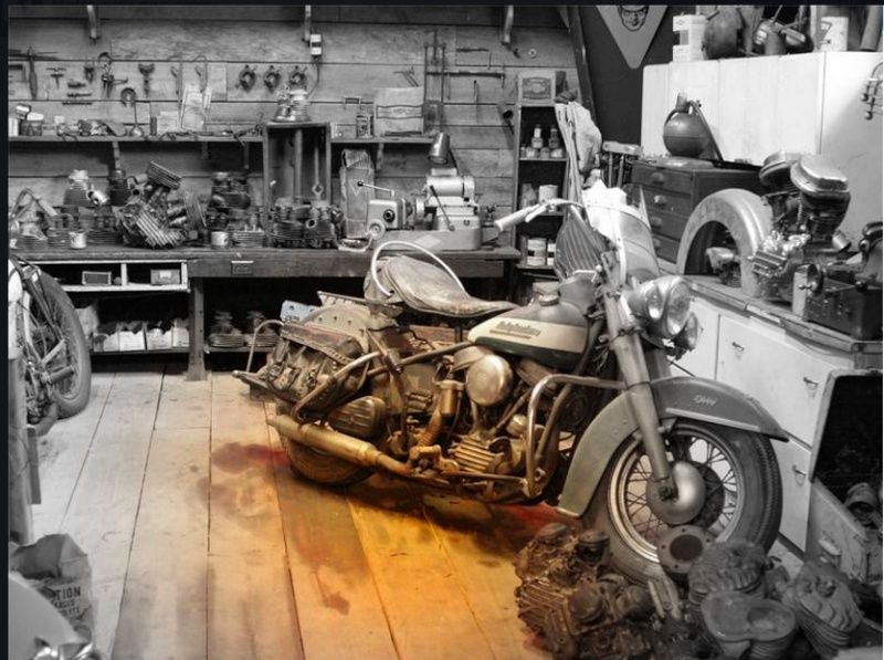 Les vieilles Harley....(ante 84) par Forum Passion-Harley - Page 5 Captu138