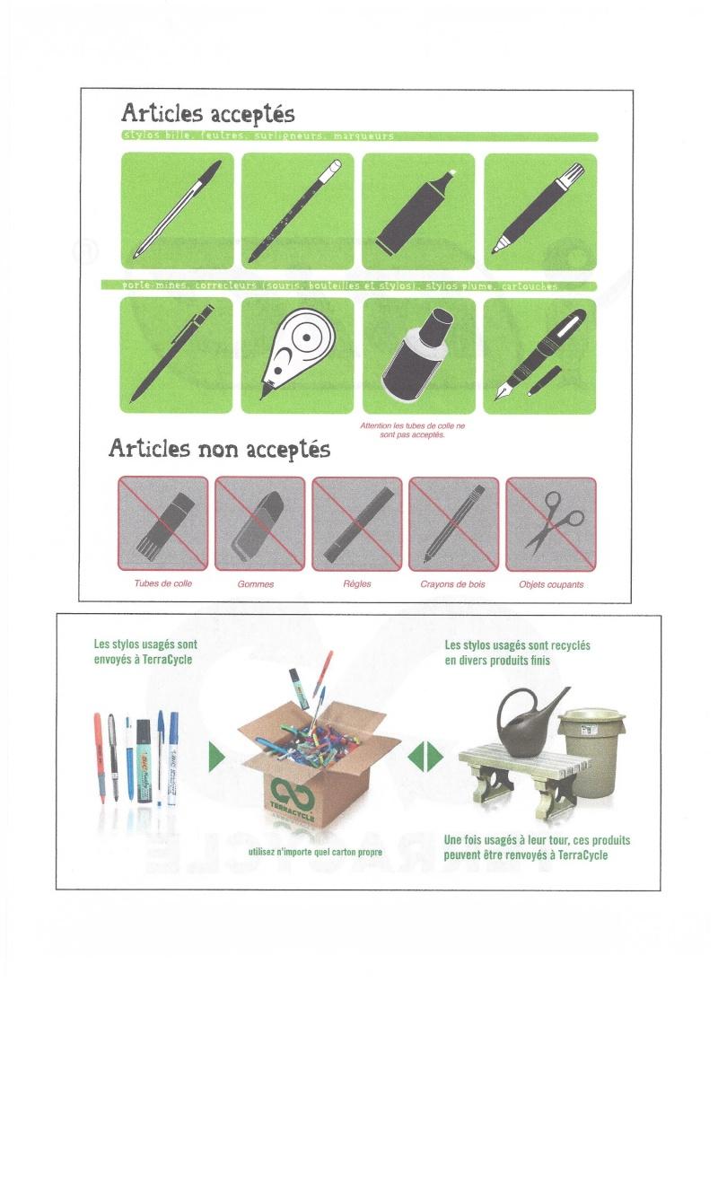 Sauvez des vies avec vos stylos usagés Terrac13