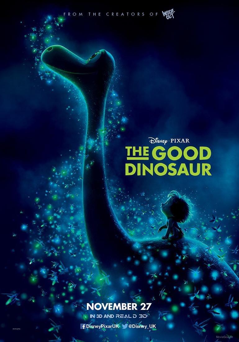 """""""The Good Dinosaur"""" """"Le Voyage d'Arlo""""  Pixar/Disney - 25 Novembre 2015 - Page 2 Affich10"""
