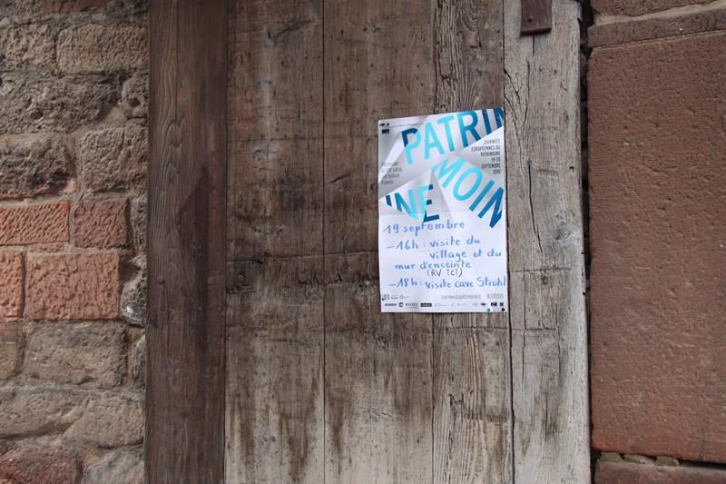 Wangen: journée européenne du patrimoine samedi 19 septembre 2015 Img_0513