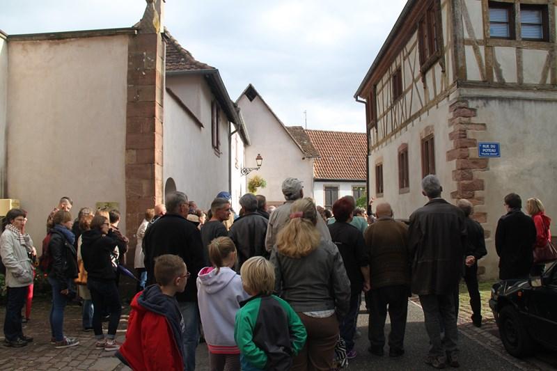 Wangen: journée européenne du patrimoine samedi 19 septembre 2015 Img_0515