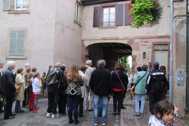 Wangen: journée européenne du patrimoine samedi 19 septembre 2015 Img_0612