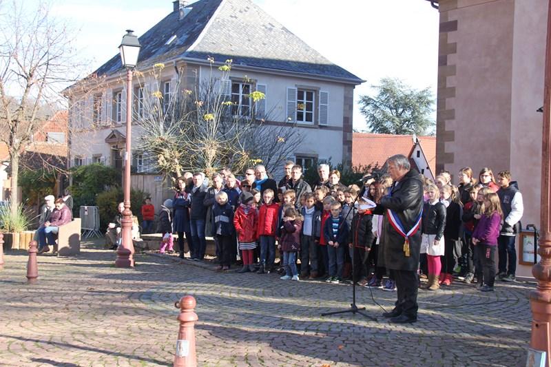 Wangen: commémoration de l'Armistice, mercredi 11 novembre 2015 Img_1020