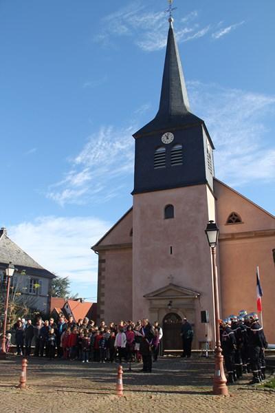 Wangen: commémoration de l'Armistice, mercredi 11 novembre 2015 Img_1022