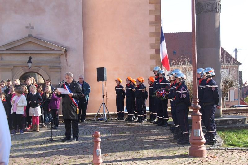 Wangen: commémoration de l'Armistice, mercredi 11 novembre 2015 Img_1024