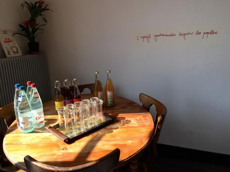 Le restaurant Chemin Faisant à Wangen. Unname14