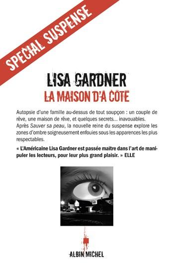 [Albin Michel] La maison d'à coté de Lisa Gardner 97822210