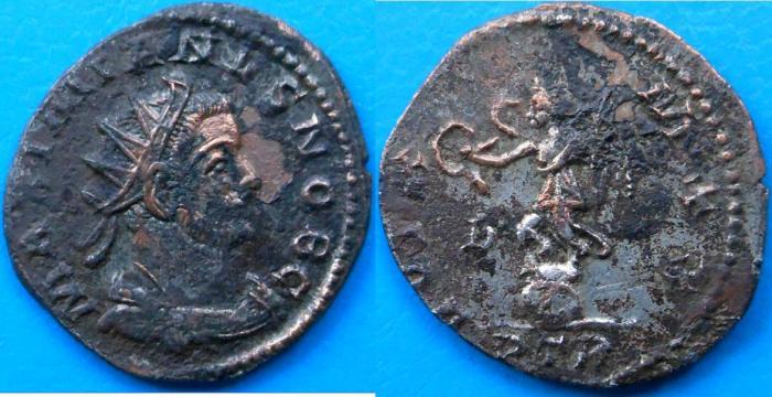 Aureliani pour Trèves de Dioclétien et de ses corégents  - Page 3 Imgser11