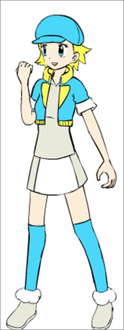 Ficha de Líderes de gimnasio Belle10