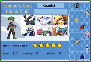 Ficha de Kazuki Steel Ucard_10