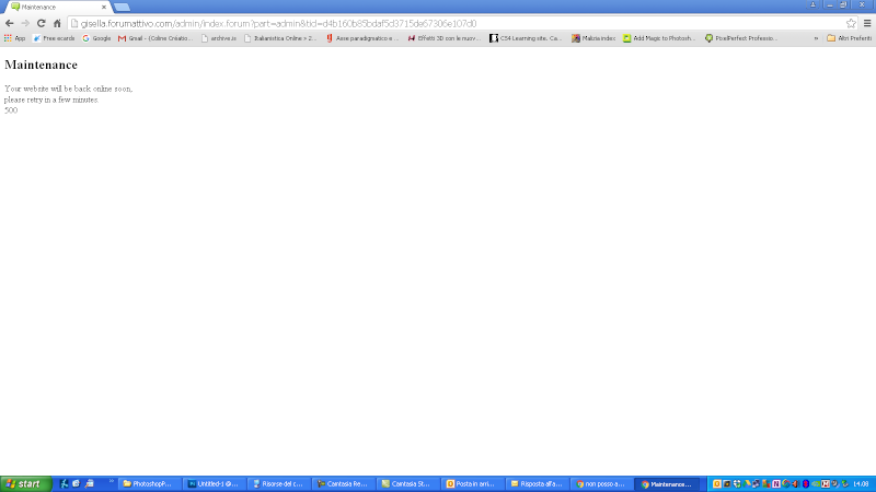 non posso accedere al pannello d'amministrazione Screen10