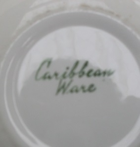 Caribbean Ware  Colours and info Carrib11