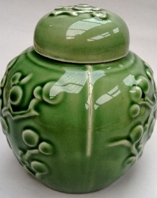 Beautiful ginger jar with cracks ! Ginger11