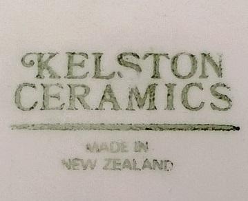 Kelston Ceramics with Blue flowers on Apollo Kelsto11
