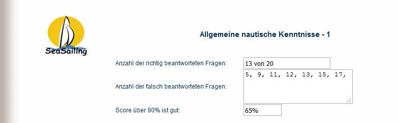 Link - Fragebogen allgemeine nautische Kenntnisse Test10