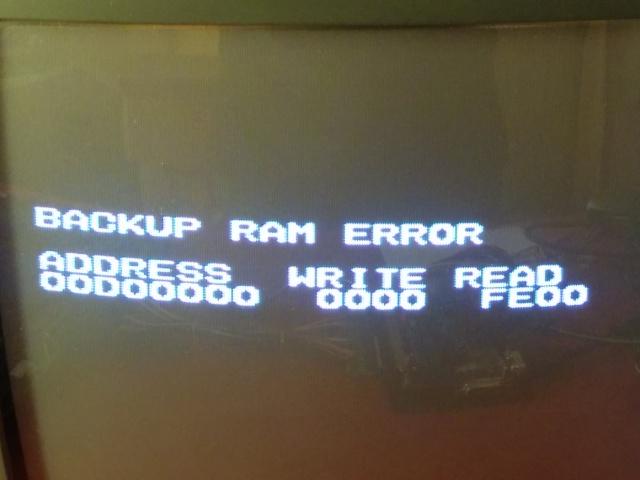 Reparation slots MVS Backup10