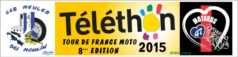 Téléthon - Tour de France moto 2015 Tylyth10