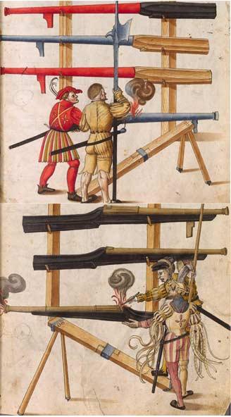 [pièce d'artillerie] hacquebute de rempart 1450-1470 44_che10