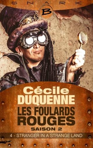 LES FOULARDS ROUGES (Saison 2 # Episode 4) STRANGER IN A STRANGE LAND de Cécile Duquenne Foular10