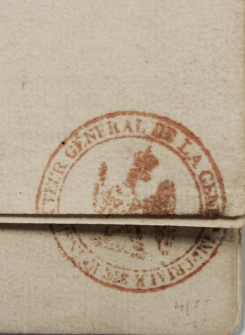 une lettre une histoire, 17 juin 1815 Gery210