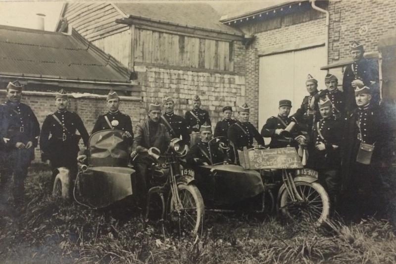 side-car aux manoeuvres de l'Aisne 1931 Manoeu10