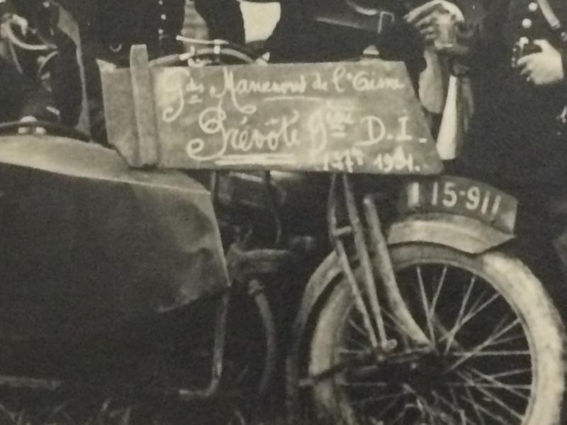 side-car aux manoeuvres de l'Aisne 1931 Manoeu11