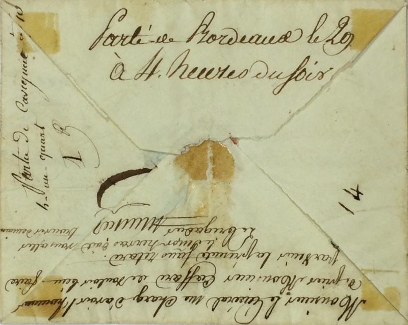 une lettre une histoire : 29 mars 1815 Mignot14