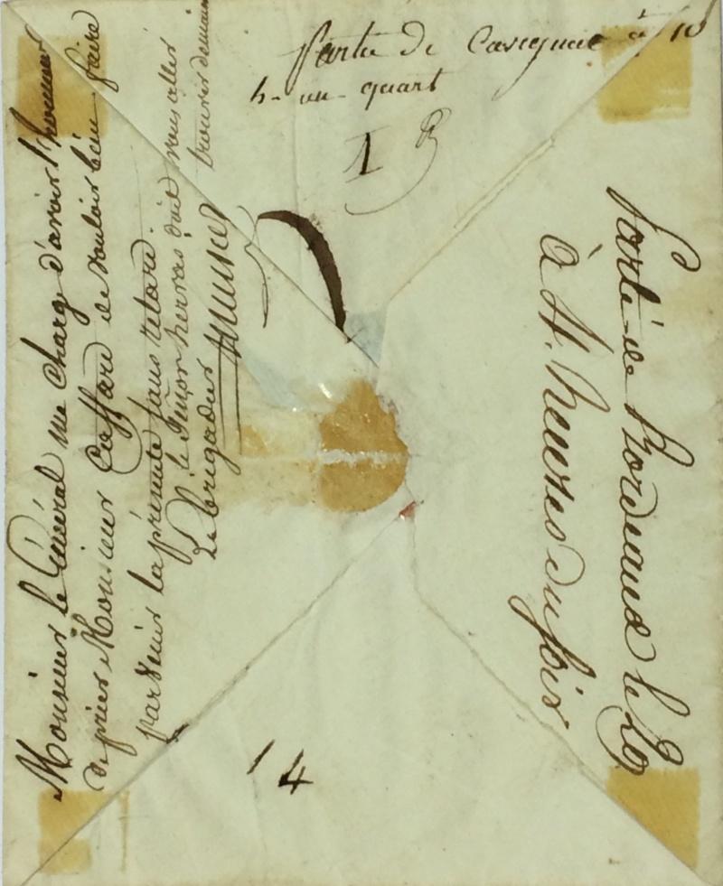 une lettre une histoire : 29 mars 1815 Mignot15