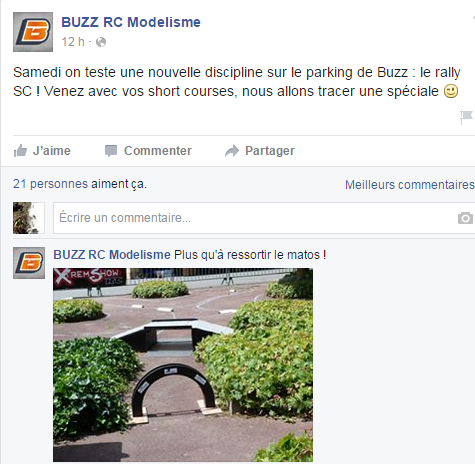 BuzzRC - piste rallye sur leur parking Captur10