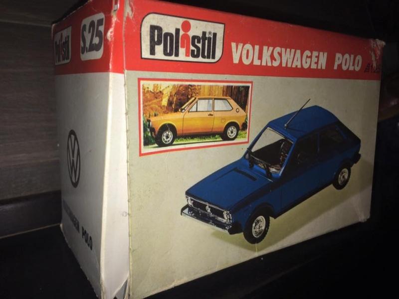 Polo Polistil Volkswagen Anno 1977 Vintage rare 10345510