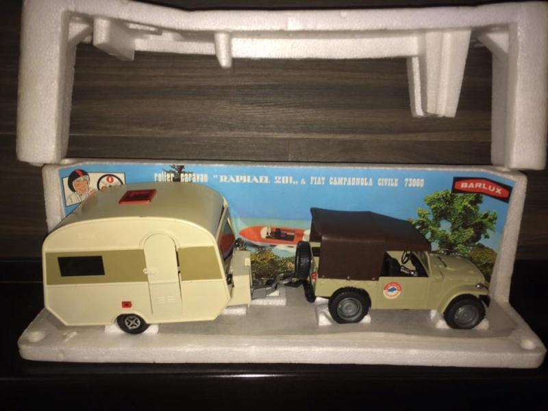 Fiat Campagnola Roller Caravan Raphael 201  Barlux Box No Mebetoys Politoys rara 11012310