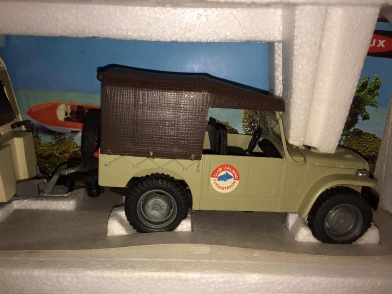 Fiat Campagnola Roller Caravan Raphael 201  Barlux Box No Mebetoys Politoys rara 11224810