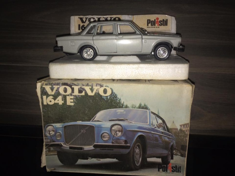 POLISTIL VOLVO 164 E scala 1/25 con scatola BOX complete no Politoys Mebetoys 11921812