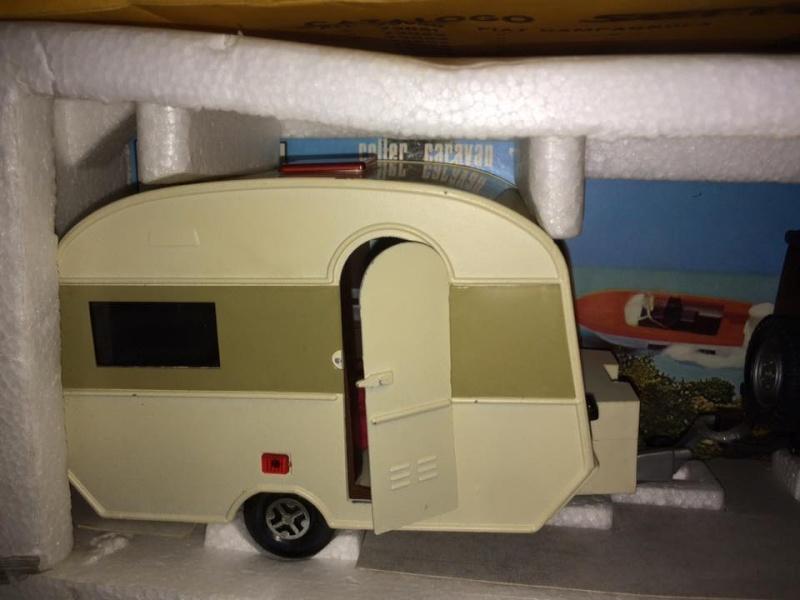 Fiat Campagnola Roller Caravan Raphael 201  Barlux Box No Mebetoys Politoys rara 11947511