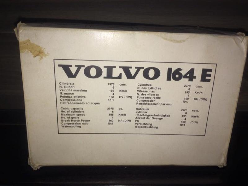 POLISTIL VOLVO 164 E scala 1/25 con scatola BOX complete no Politoys Mebetoys 11947610