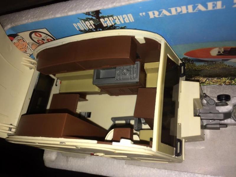 Fiat Campagnola Roller Caravan Raphael 201  Barlux Box No Mebetoys Politoys rara 11949510