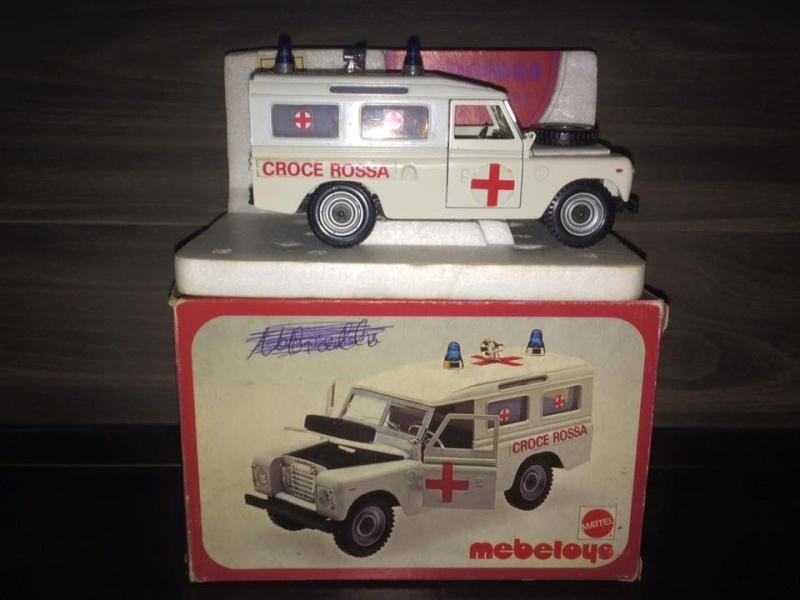 Mabetoys Land Rover Roller Caravan Croce Rossa BOX MATTEL Anni 70 Toys Raro 11951110