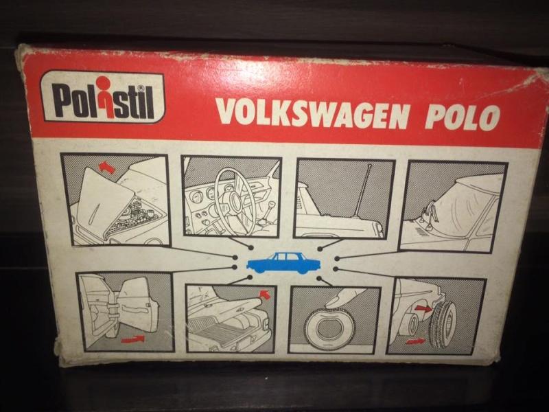 Polo Polistil Volkswagen Anno 1977 Vintage rare 11951315