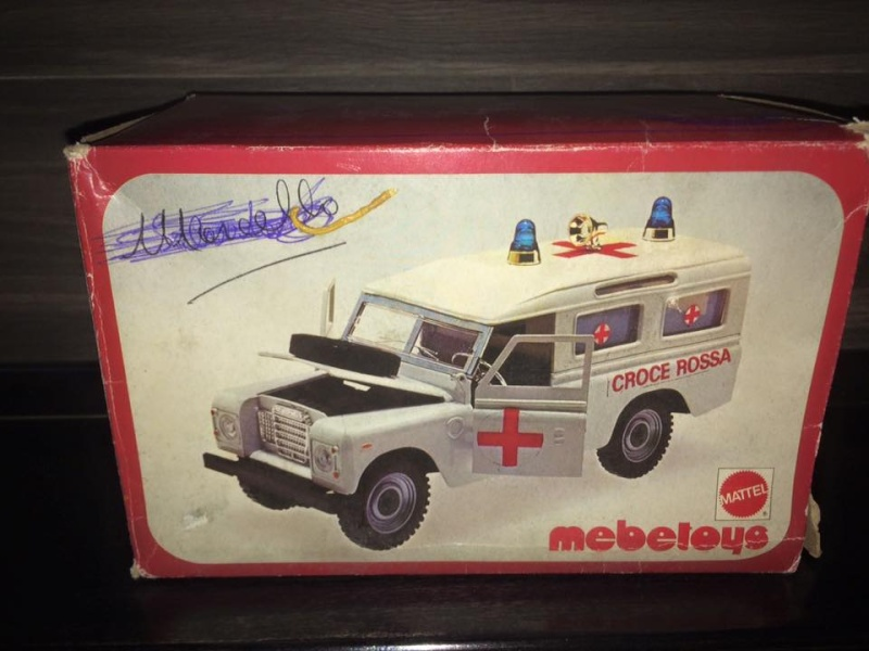 Mabetoys Land Rover Roller Caravan Croce Rossa BOX MATTEL Anni 70 Toys Raro 11990610