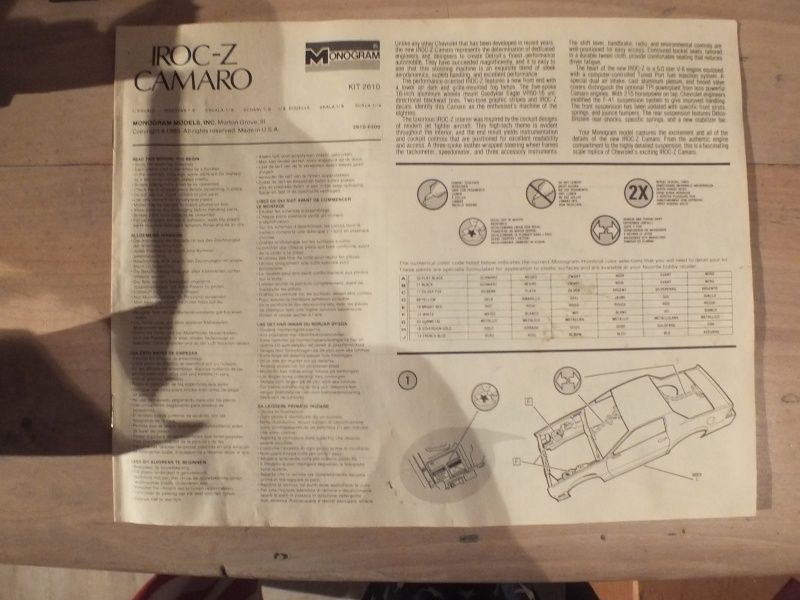 #17 : Chevrolet Camaro IROC Z28 5.7 TPI 1987 [3 terrminées] - Page 2 Dscf0033